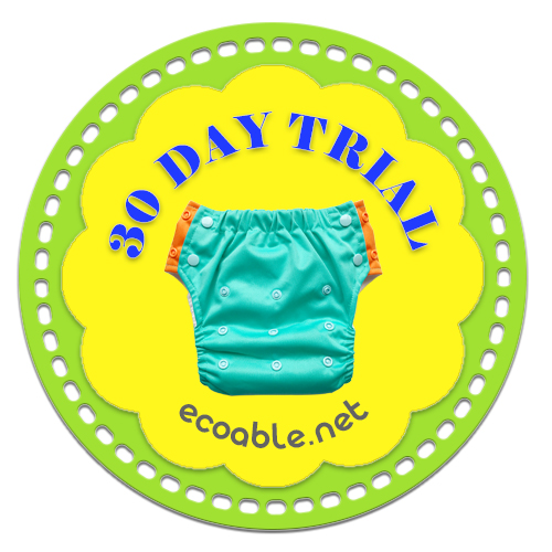EcoAble 30 Day Cloth Diaper Trial