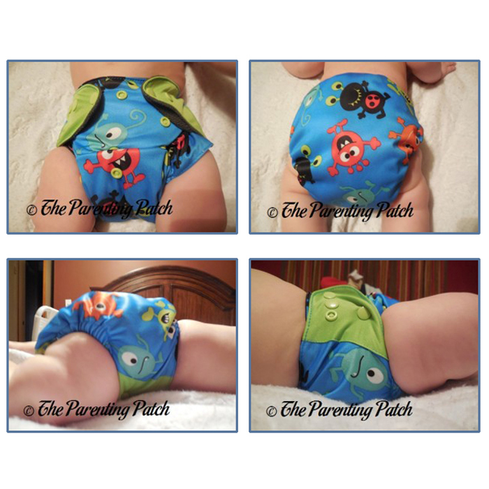 ecoAble Charcoal Bamboo Cloth Pocket Diaper with Insert Review