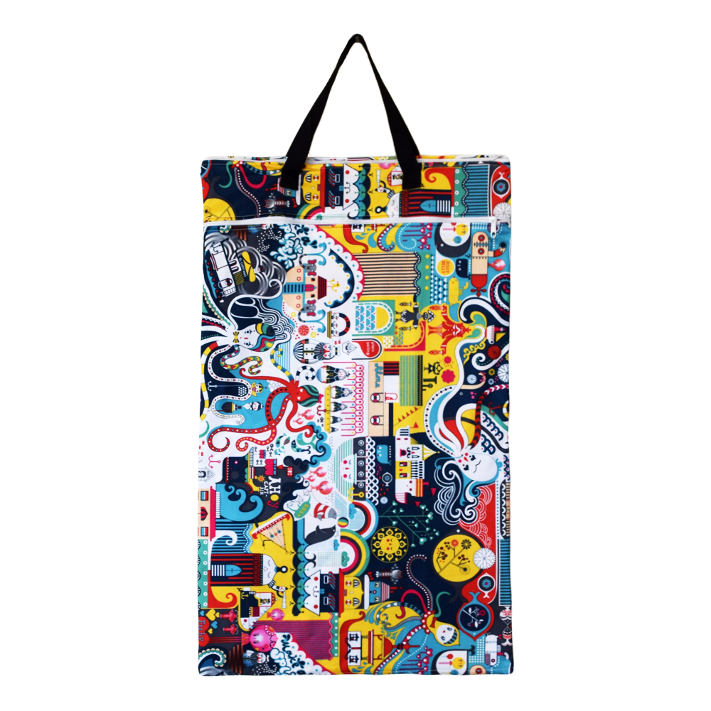 EcoAble Large Hanging Wet Dry Bag for Dirty Cloth Diapers